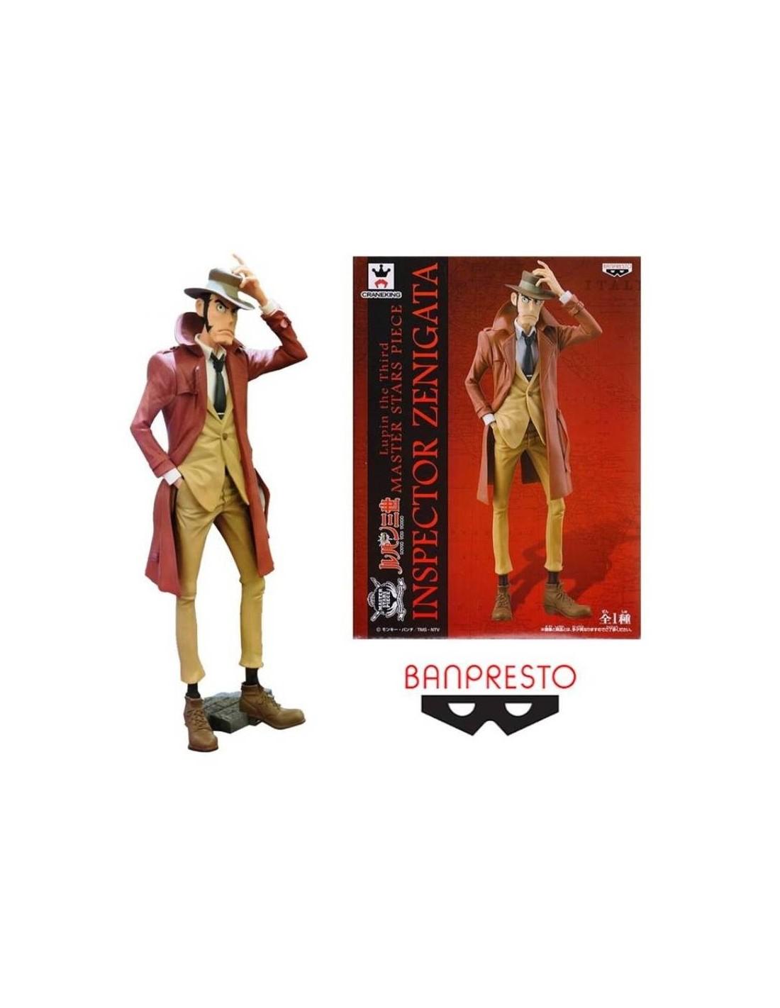 Lupin The 3rd Master Stars Piece Ispettore Zenigata PVC Figure BANPRESTO