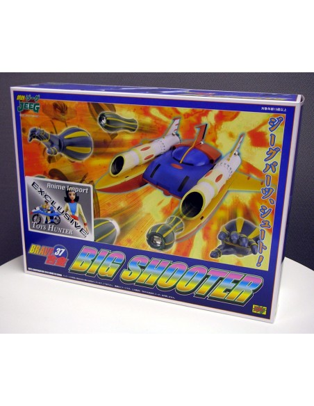 CHOGOKIN BRAVE 37 JEEG BIG SHOOTER DIE CAST