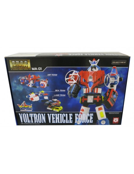MIRACLE METAL WORKS VOLTRON VEHICLE FORCE