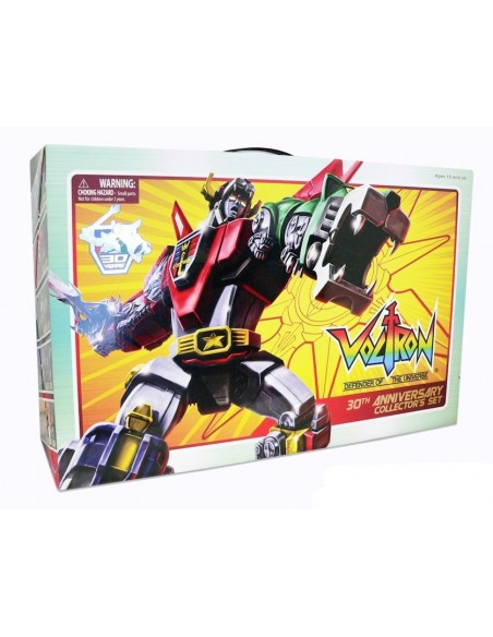 VOLTRON LION FORCE 30° ANNIVERSARIO COLLECTOR SET